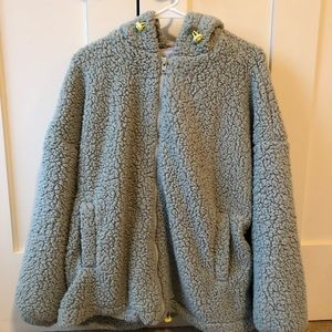 Urban Outfitters Wilma Hooded Teddy Jacket